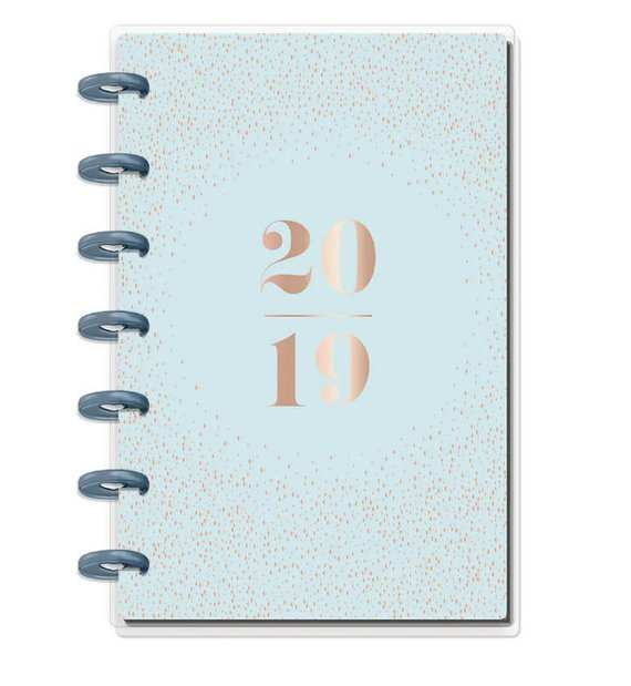 25 Great 2019 Mini Happy Planner Overview with 2019 Mini Happy Planner
