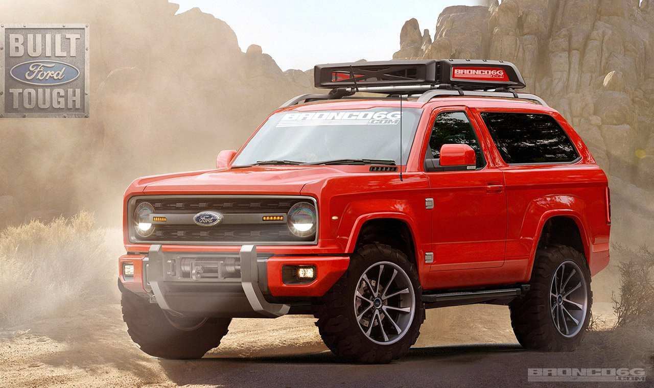 26 Concept of 2020 Ford Bronco Auto Show Concept by 2020 Ford Bronco Auto Show