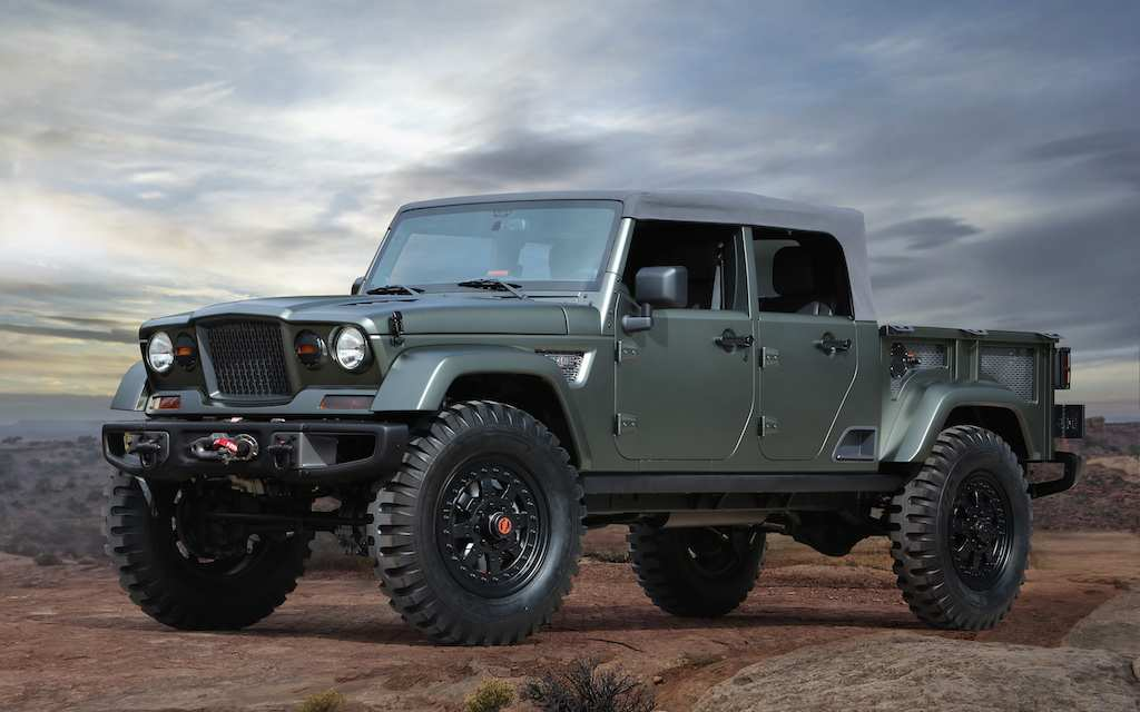 26 Gallery of 2019 Jeep Pickup Wallpaper with 2019 Jeep Pickup