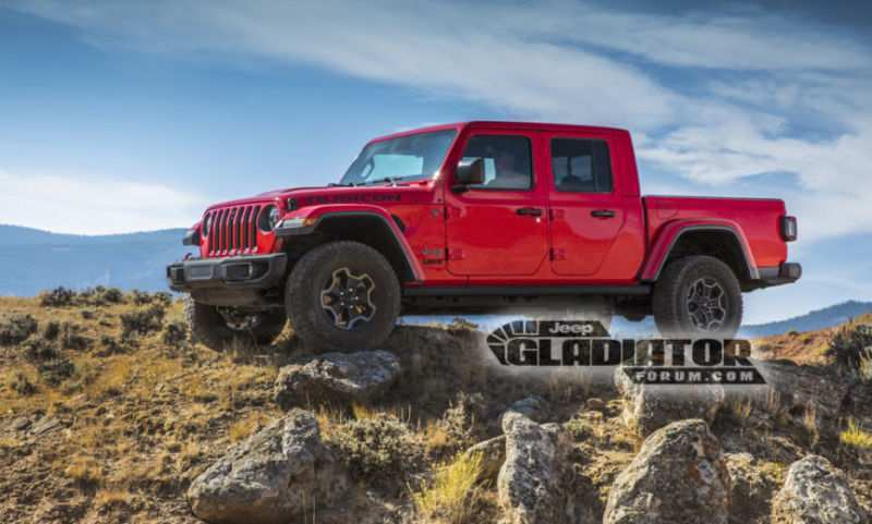 26 The 2020 Jeep Wrangler Pickup Truck Concept by 2020 Jeep Wrangler Pickup Truck