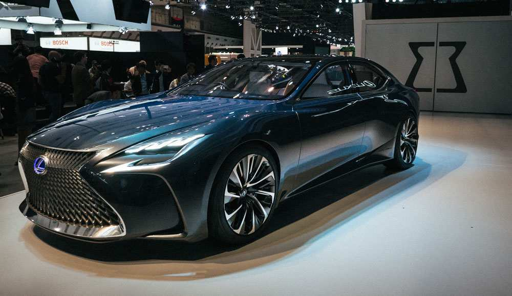 27 The 2019 Lexus Concept Model by 2019 Lexus Concept