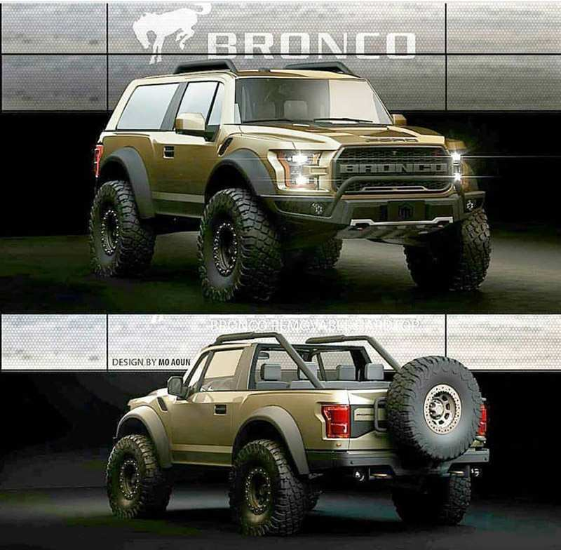 28 Concept of 2019 Ford Bronco Convertible Exterior by 2019 Ford Bronco Convertible