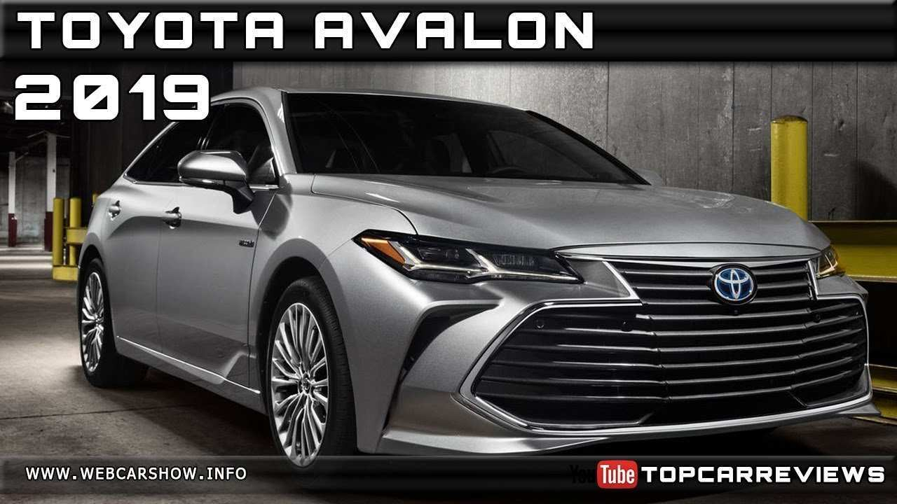 28 Great 2019 Toyota Avalon Review Interior for 2019 Toyota Avalon Review