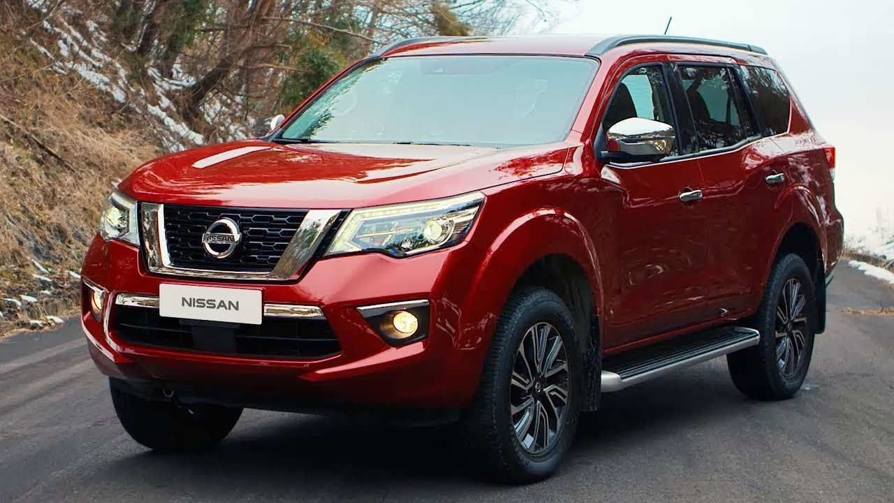 28 New 2019 Nissan Terra Redesign and Concept for 2019 Nissan Terra
