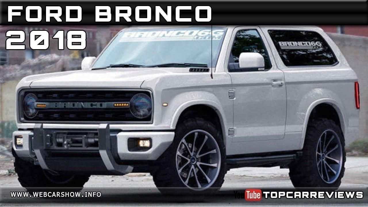 29 All New 2019 Ford Bronco Specs Wallpaper with 2019 Ford Bronco Specs