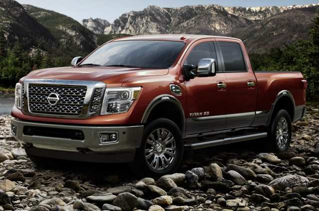 29 All New 2019 Nissan Titan Xd Redesign and Concept by 2019 Nissan Titan Xd