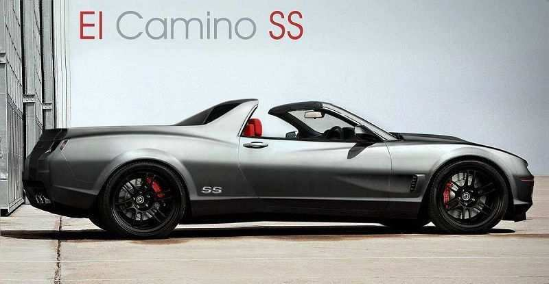 29 All New 2020 Chevrolet El Camino Spy Shoot by 2020 Chevrolet El Camino