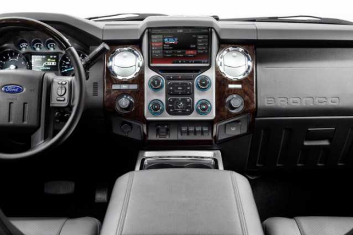 29 All New 2020 Ford Bronco Interior Spesification by 2020 Ford Bronco Interior
