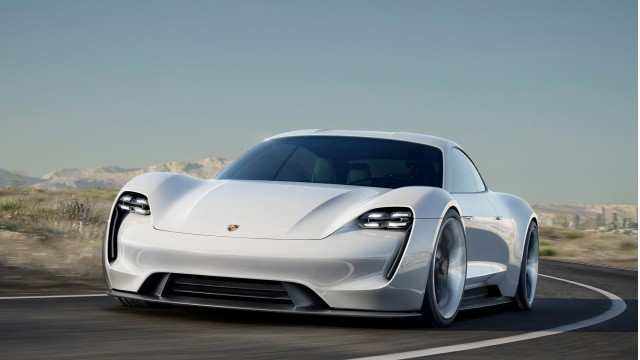 29 Concept of 2020 Porsche Mission E Electric Sedan Spied Testing Alongside Teslas Concept for 2020 Porsche Mission E Electric Sedan Spied Testing Alongside Teslas