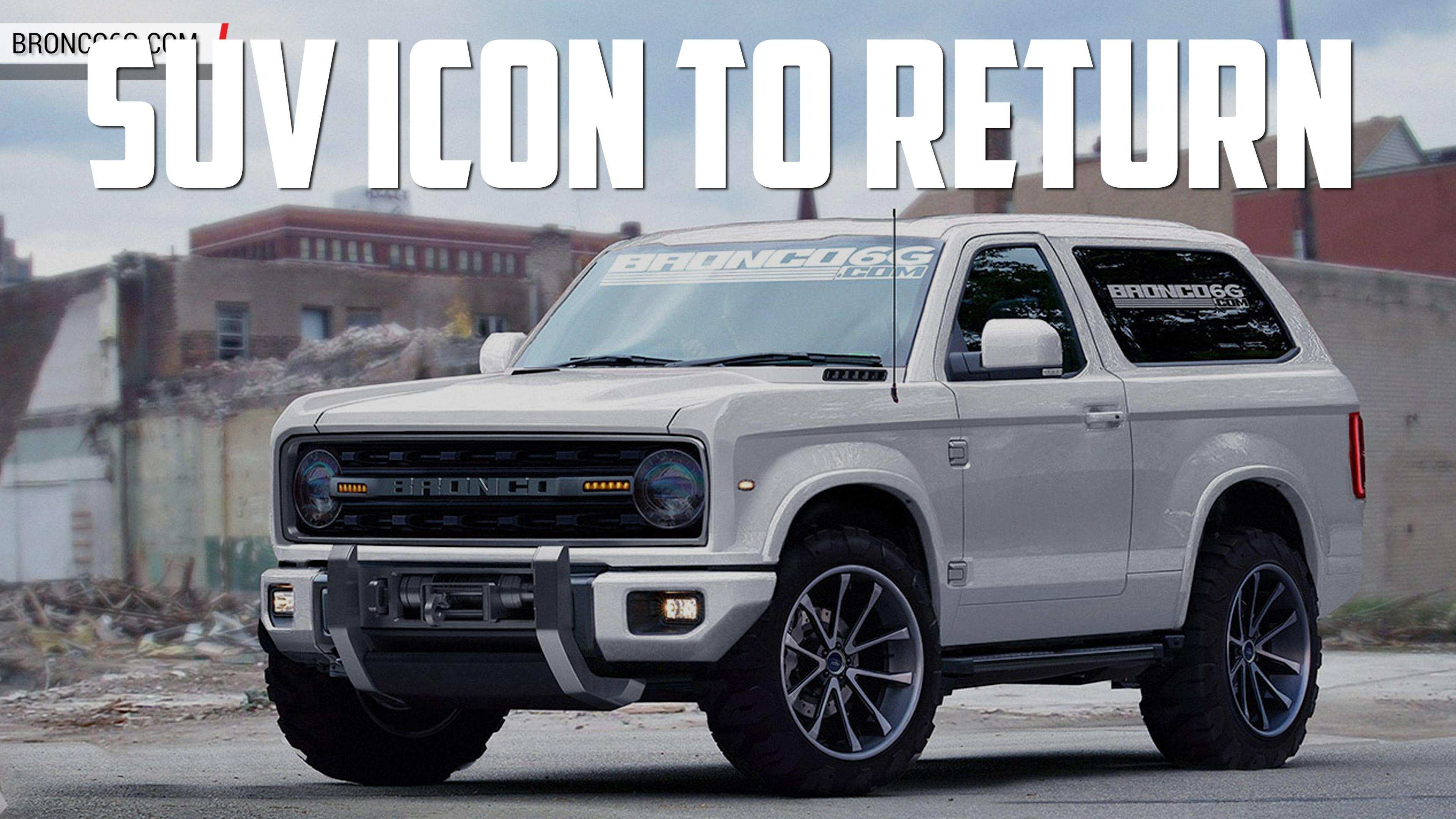 30 All New 2020 Ford Bronco Look Exterior and Interior for 2020 Ford Bronco Look