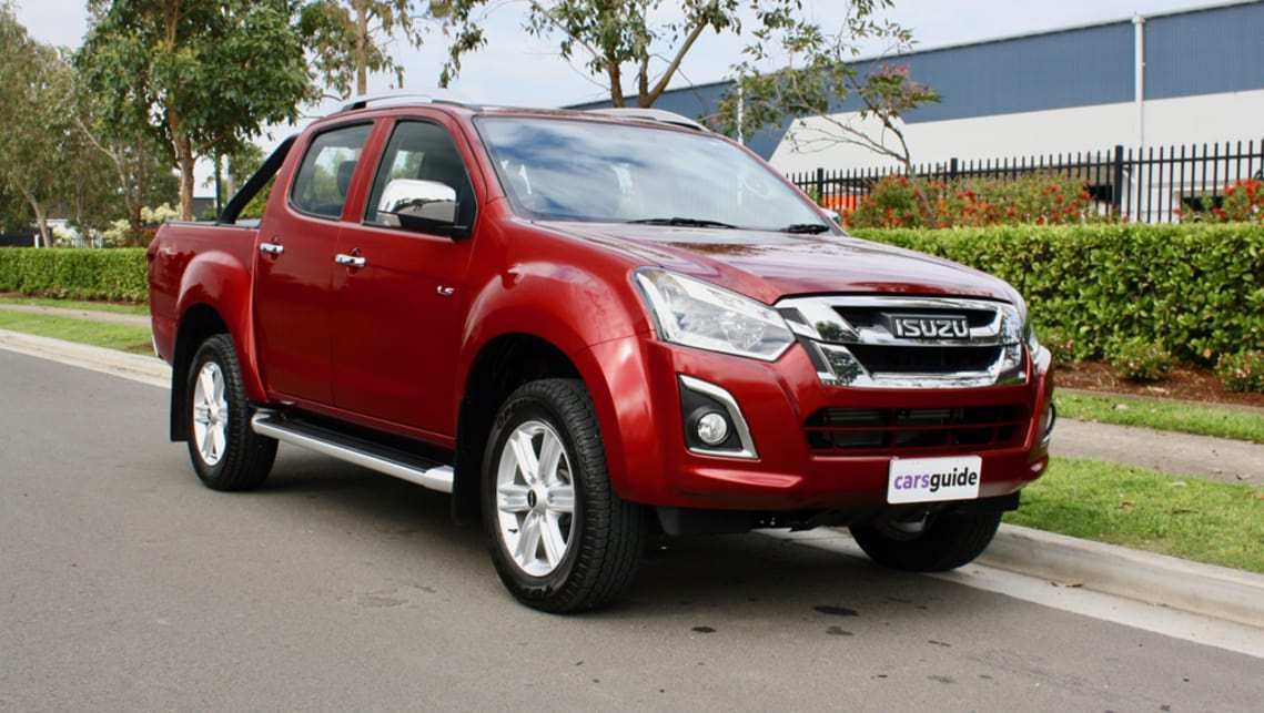 30 The 2019 Isuzu Pickup Truck Exterior by 2019 Isuzu Pickup Truck