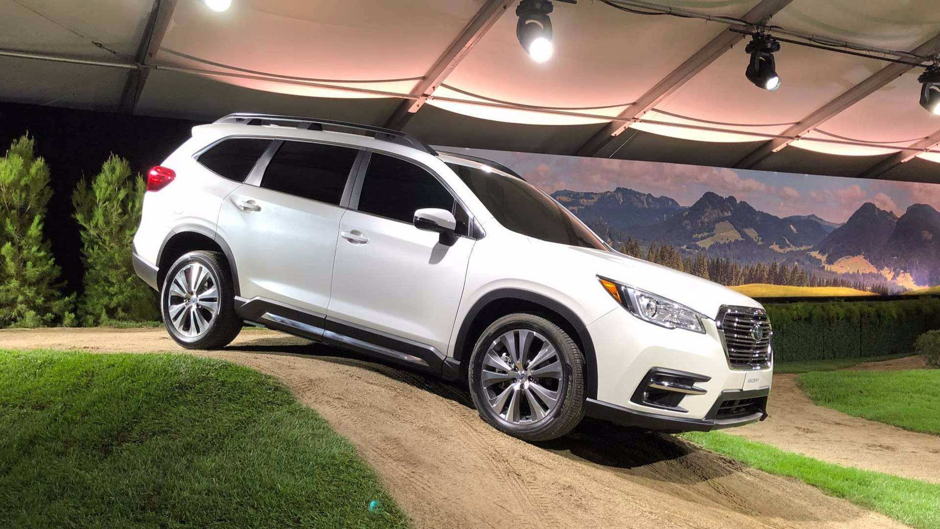30 The 2019 Subaru Ascent Debut Pictures by 2019 Subaru Ascent Debut