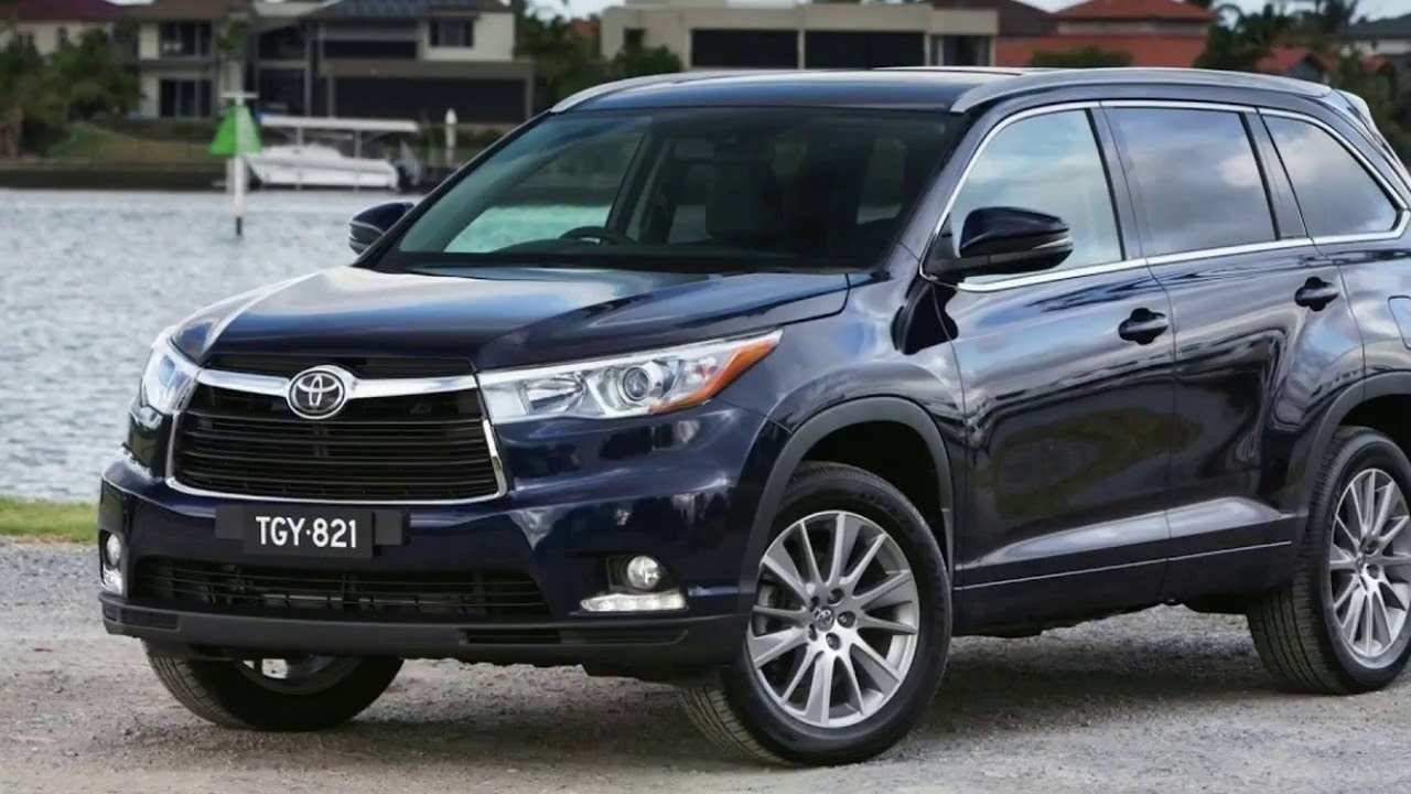 30 The 2019 Toyota Kluger Release Date for 2019 Toyota Kluger