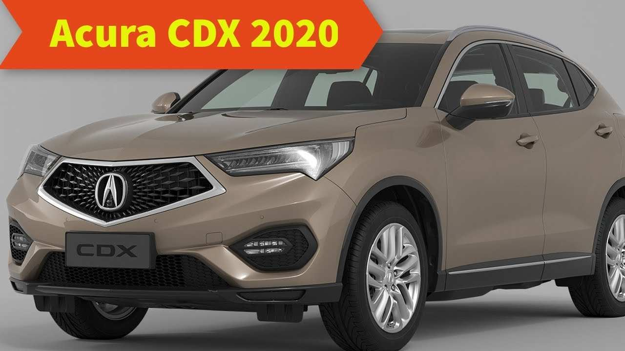 30 The 2020 Acura Cdx Model with 2020 Acura Cdx