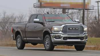 30 The 2020 Dodge Ram Pickup Spy Shoot for 2020 Dodge Ram Pickup