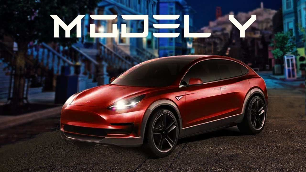 31 Concept of 2019 Tesla Model Y Style with 2019 Tesla Model Y