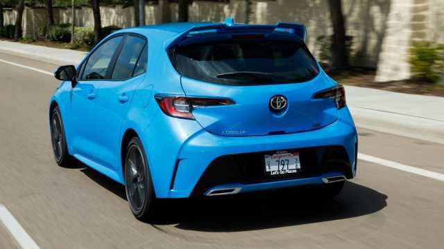 31 Concept of 2019 Toyota Corolla Hatchback Review Research New for 2019 Toyota Corolla Hatchback Review