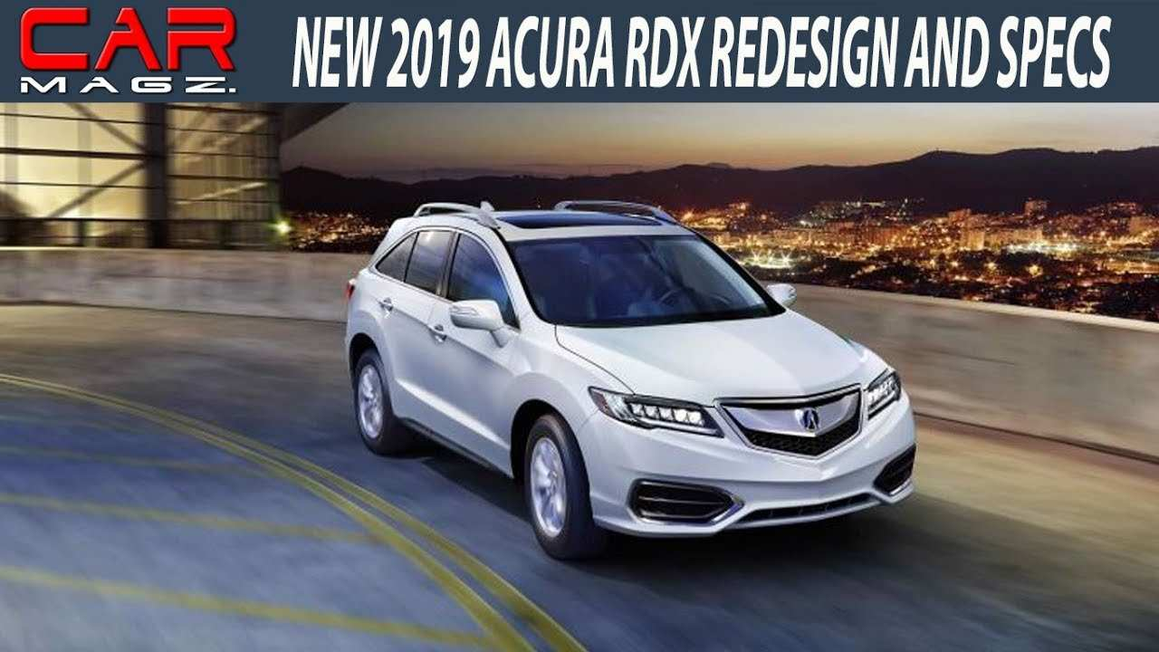 31 Great 2019 Acura Rdx Rumors Research New by 2019 Acura Rdx Rumors