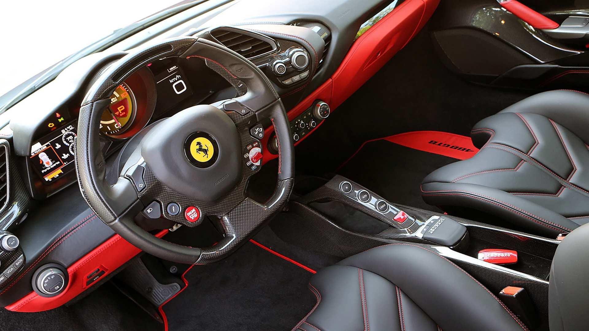 31 Great 2019 Ferrari Interior Interior for 2019 Ferrari Interior