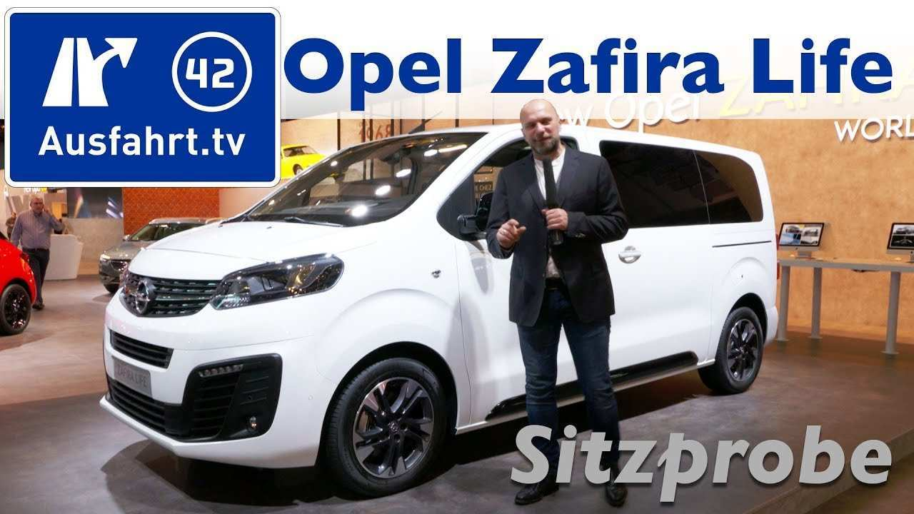 32 Best Review Opel Zafira 2019 Spy Shoot by Opel Zafira 2019