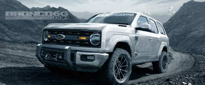 32 New New 2020 Ford Bronco Specs Overview for New 2020 Ford Bronco Specs