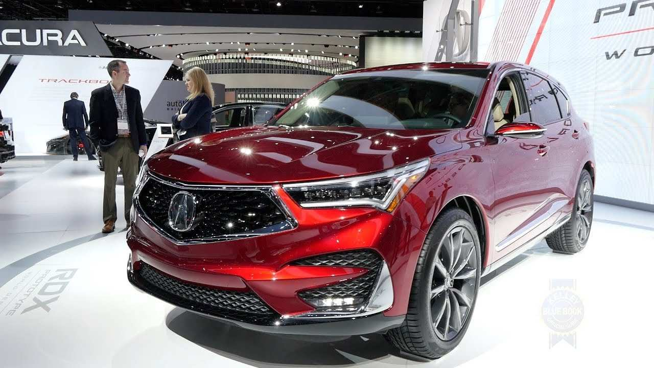32 The 2019 Acura Rdx Prototype Performance and New Engine by 2019 Acura Rdx Prototype