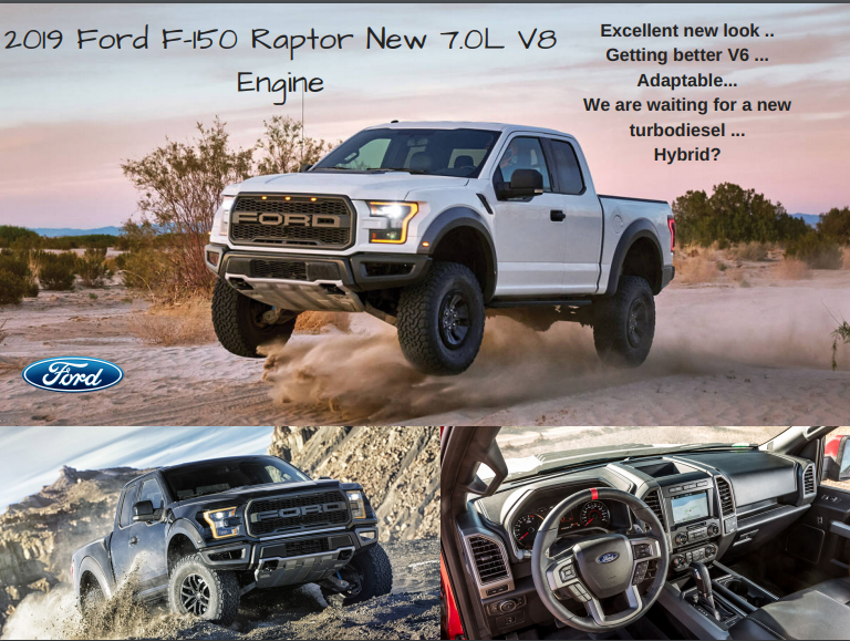 32 The 2019 Ford Raptor 7 0L Overview with 2019 Ford Raptor 7 0L