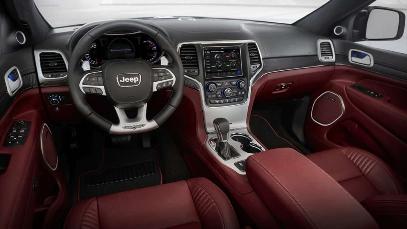 32 The 2019 Jeep Grand Cherokee Interior Images with 2019 Jeep Grand Cherokee Interior
