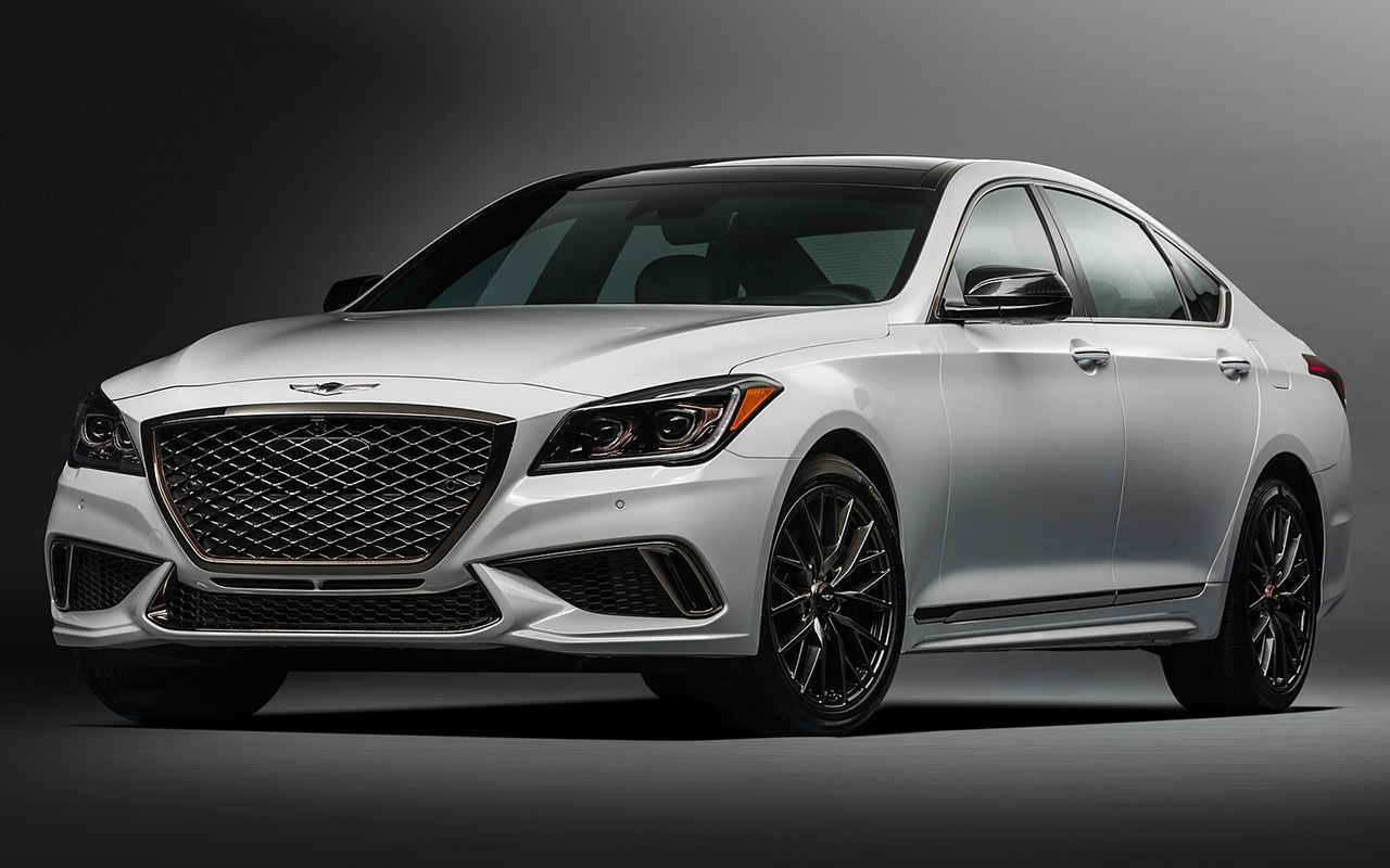 33 All New 2019 Genesis G80 Coupe Exterior with 2019 Genesis G80 Coupe