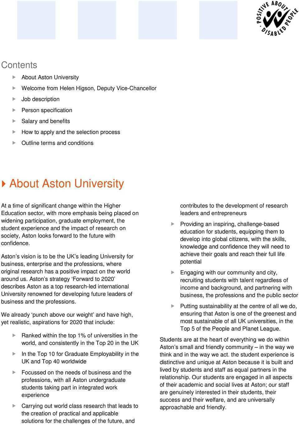 33 All New Aston University 2020 Strategy Interior for Aston University 2020 Strategy