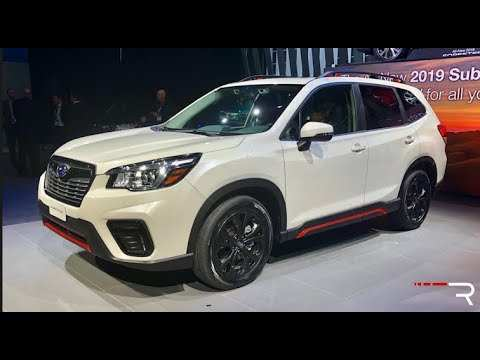 33 Concept of 2019 Subaru Forester Sport Interior by 2019 Subaru Forester Sport