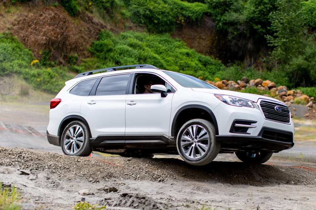 33 Gallery of 2019 Subaru Ascent Debut Spy Shoot with 2019 Subaru Ascent Debut