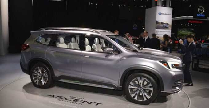 33 Gallery of 2020 Subaru Ascent Redesign and Concept for 2020 Subaru Ascent