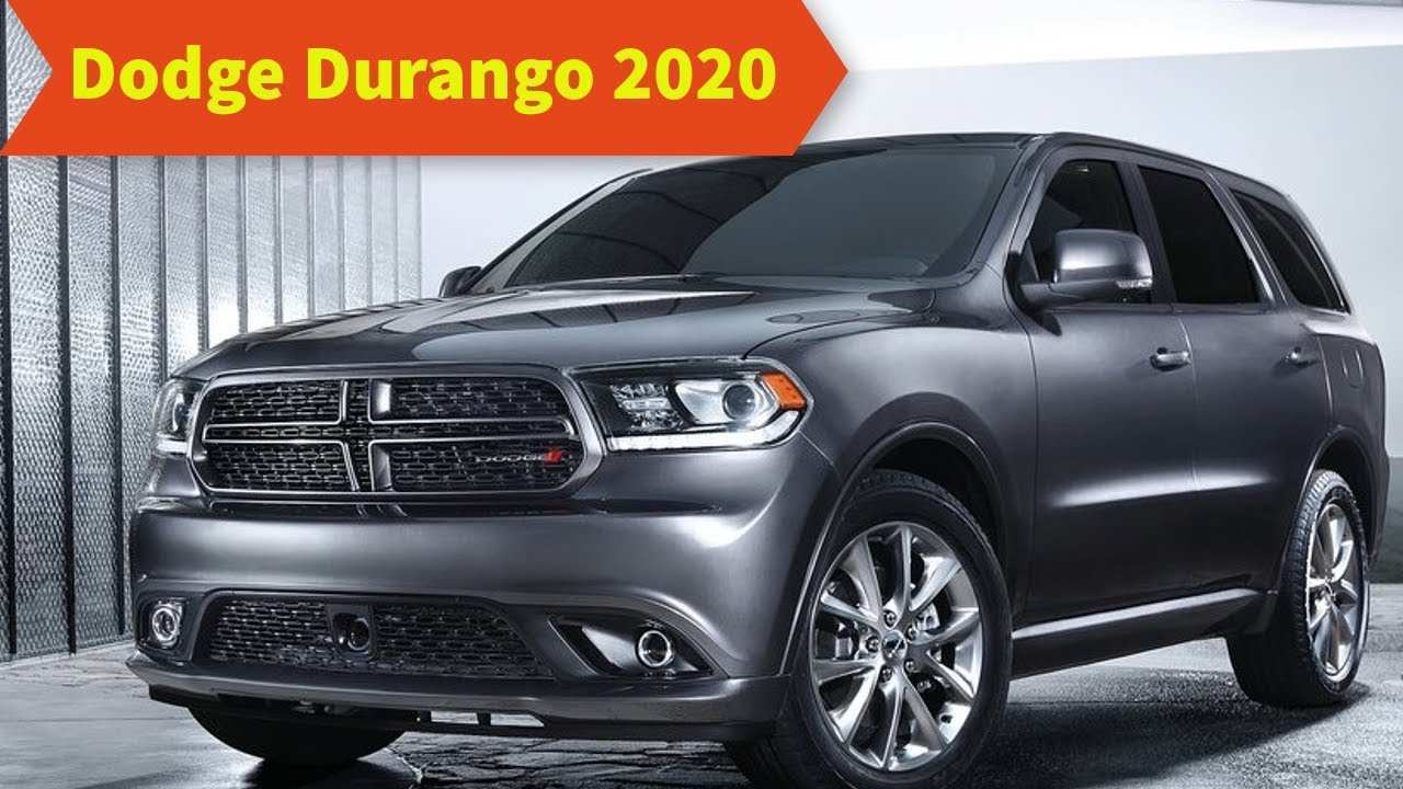 33 Great 2020 Dodge Durango Redesign Exterior for 2020 Dodge Durango Redesign