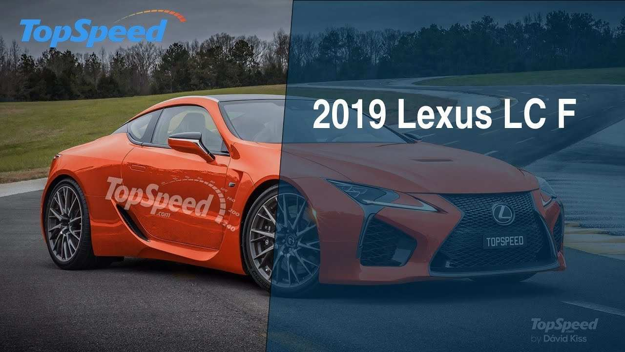 34 All New 2019 Lexus Lc F Redesign and Concept for 2019 Lexus Lc F