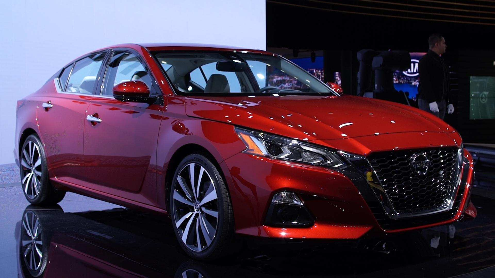 34 All New 2019 Nissan Altima News Spy Shoot by 2019 Nissan Altima News