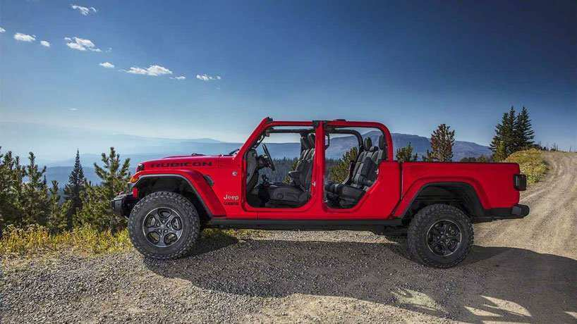 34 All New 2020 Jeep Wrangler Pickup Truck Concept by 2020 Jeep Wrangler Pickup Truck