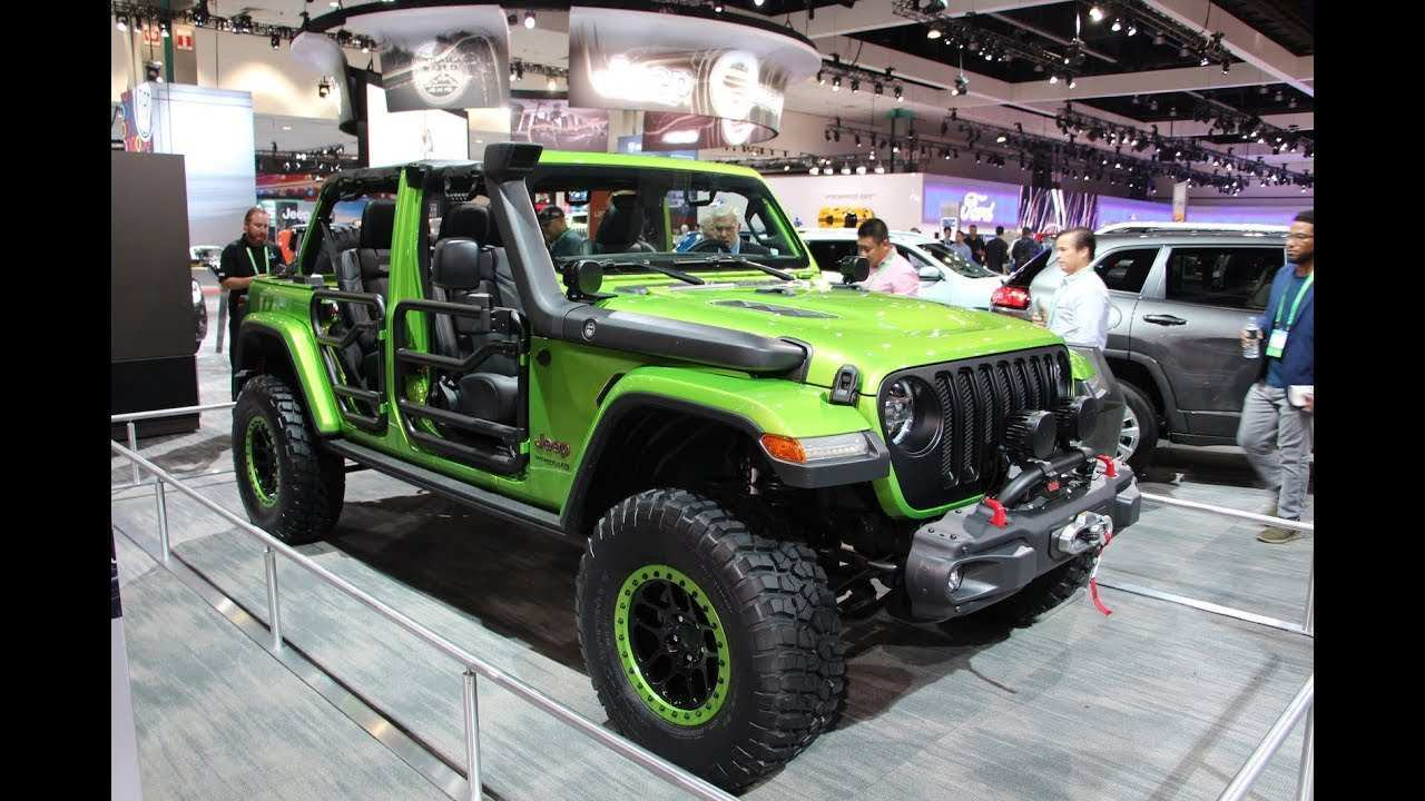 34 New 2019 Jeep Wrangler La Auto Show Style with 2019 Jeep Wrangler La Auto Show