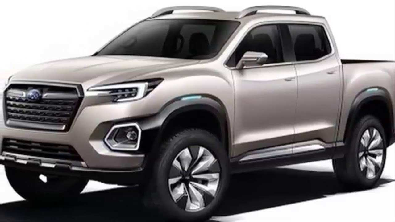 34 New 2019 Subaru Pickup Truck Redesign and Concept with 2019 Subaru Pickup Truck