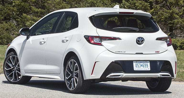 34 New 2019 Toyota Corolla Hatchback Review Picture by 2019 Toyota Corolla Hatchback Review