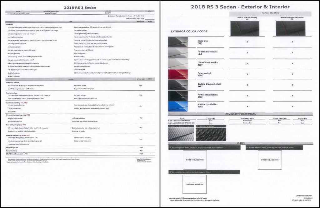 34 The 2019 Audi Order Guide Canada Wallpaper by 2019 Audi Order Guide Canada