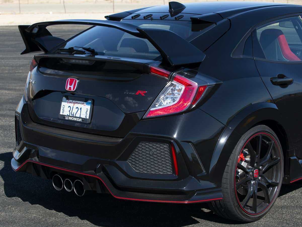 35 All New 2019 Honda Type R Spy Shoot with 2019 Honda Type R