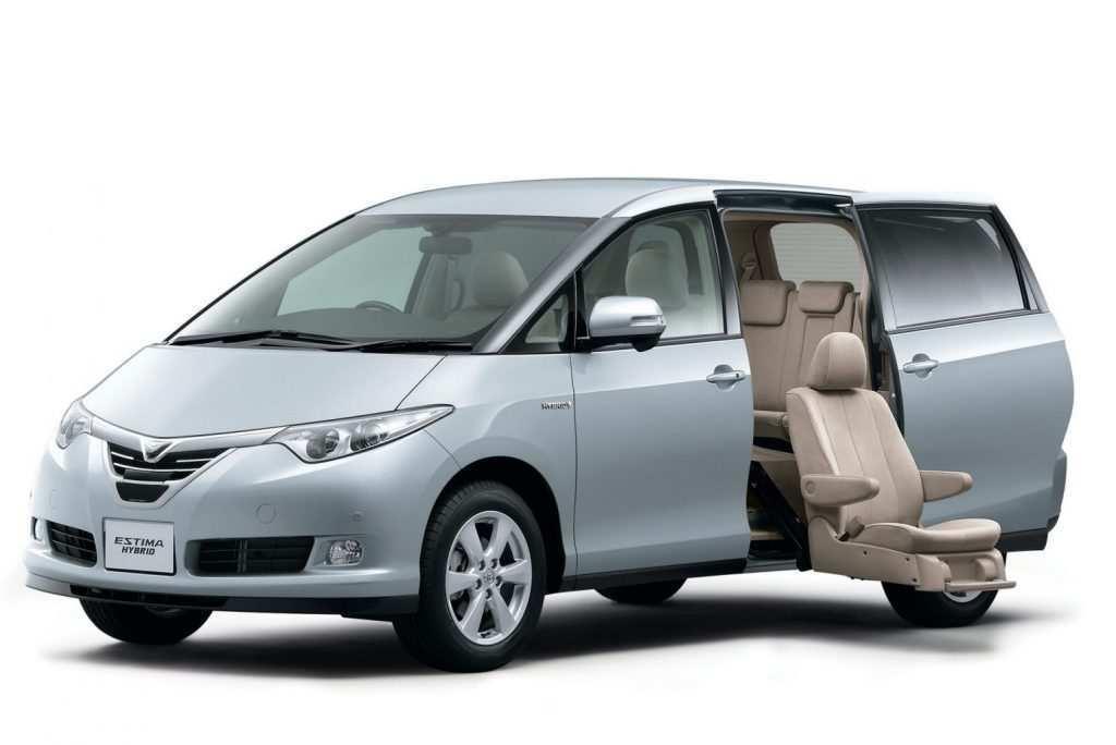 35 Concept of 2019 Toyota Estima First Drive for 2019 Toyota Estima
