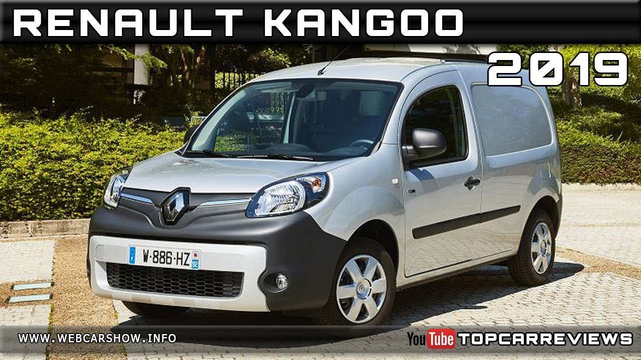 35 New 2019 Renault Kangoo Speed Test by 2019 Renault Kangoo