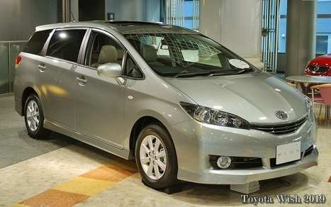 36 Best Review 2019 Toyota Wish Exterior and Interior by 2019 Toyota Wish