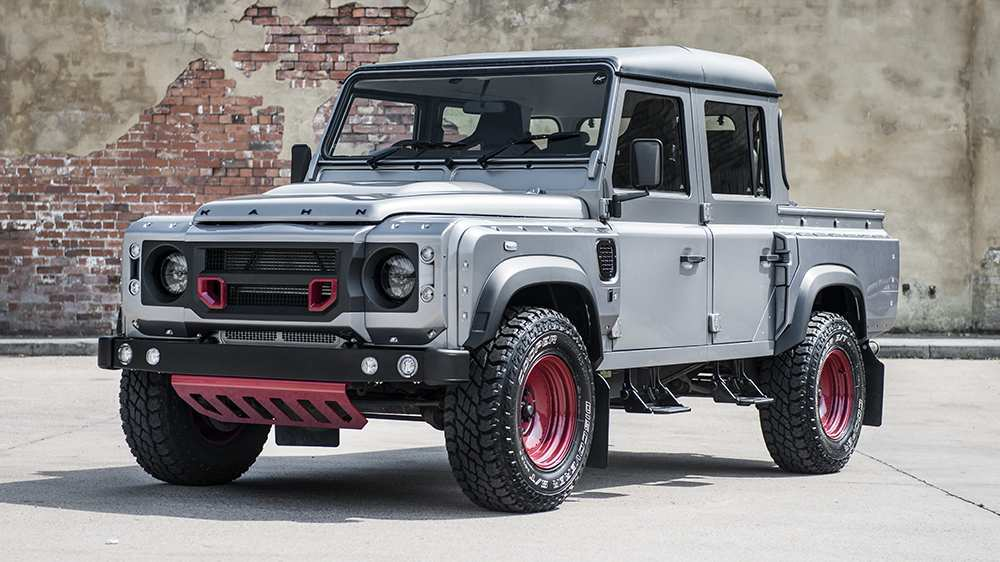 36 Concept of 2019 Land Rover Defender Ute Overview by 2019 Land Rover Defender Ute