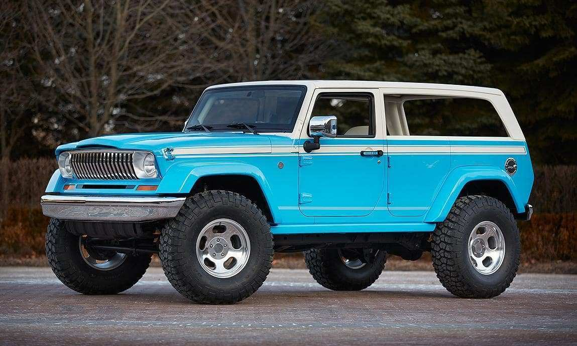 36 Concept of 2020 Jeep Wagoneer History for 2020 Jeep Wagoneer