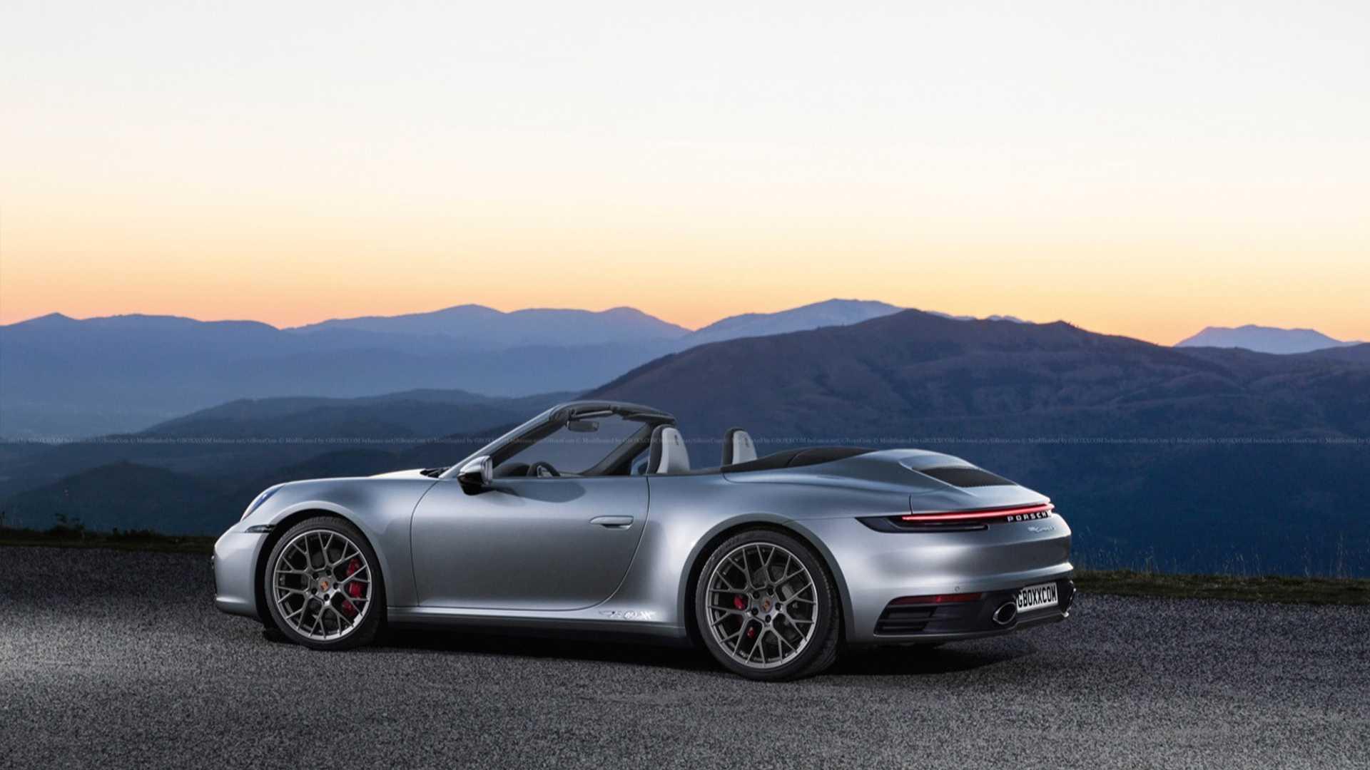 36 Concept of 2020 Porsche Speedster Review with 2020 Porsche Speedster