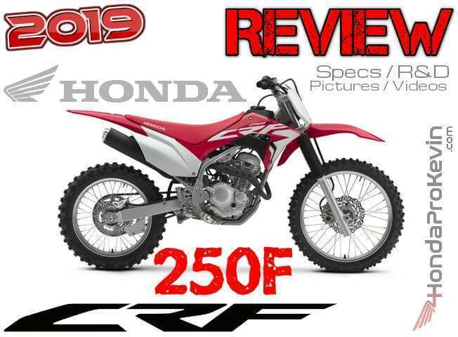 36 Great 2019 Honda 250F Price and Review for 2019 Honda 250F
