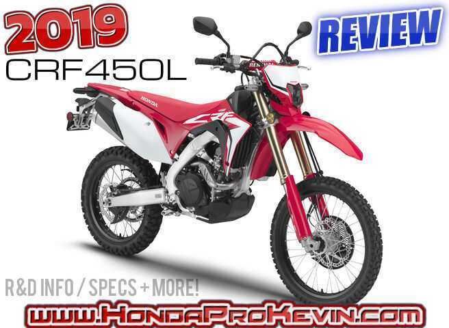 36 New 2019 Honda Crf450L Specs and Review with 2019 Honda Crf450L